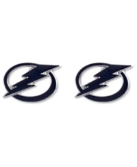 Aminco Tampa Bay Lightning Logo Post Earrings Team Color