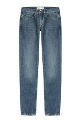 Victoria Beckham Denim Straight Leg Jeans Blue