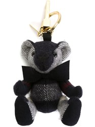 Burberry Teddy Bag Charm Blue