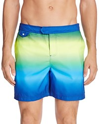 Original Penguin Neon Fade Swim Trunks Deep Water