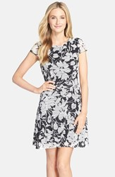 Women's Eci Floral Print Fit And Flare Dress