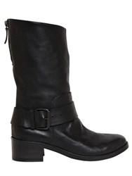 Marsell 40Mm Leather Biker Boots