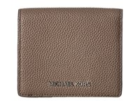 Michael Michael Kors Mercer Carryall Card Case Cinder Credit Card Wallet Gray