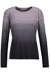 Kain Label Edith Gradient Stretch Modal Top Charcoal