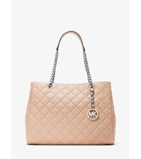 Susannah Large Quilted Leather Tote