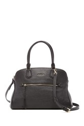 Cole Haan Delilah Dome Leather Satchel Black