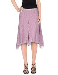 Armani Jeans Skirts Knee Length Skirts Women Garnet