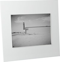 Cb2 Acrylic White 8X10 Picture Frame