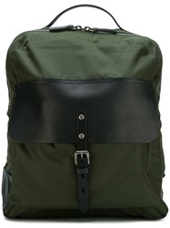 Ally Capellino 'Ian' Zip Around Backpack Green