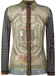 Jean Paul Gaultier Vintage 'Le Grand Voyage' Shirt Multicolour