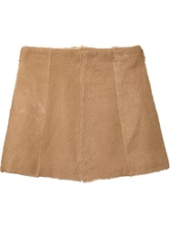 Chloe Chloe Mini Skirt Brown