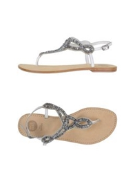 Gioseppo Thong Sandals White