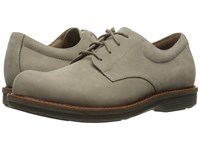Dansko Josh Taupe Milled Nubuck Men's Lace Up Casual Shoes Beige