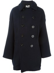 Nlst Double Breasted Coat Black