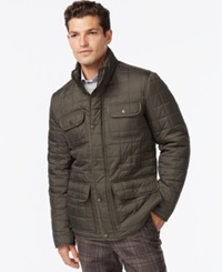 Tommy Hilfiger Four Pocket Quilted Jacket Olive