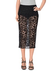 We Are Replay Skirts 3 4 Length Skirts Women Black