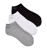 Calvin Klein Coolmax Liner Sock Pack Of 3 Male