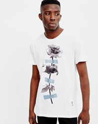 Religion Taped Rose T Shirt White