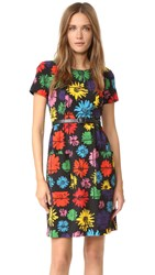 Moschino Short Sleeve Dress Multi
