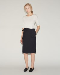 Humanoid Wrap Skirt Blackish