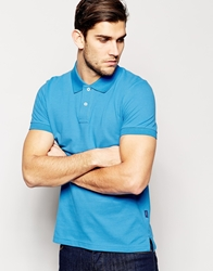 Esprit Pique Polo Shirt Lightblue