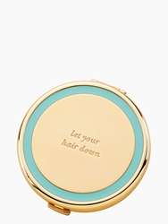 Kate Spade Holly Drive Compact 'Let Your Hair Down' Turquoise