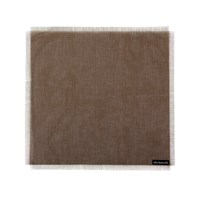 Chilewich Metallic Fringe Square Placemat Sand