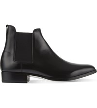 Tom Ford Roos Lower Leather Chelsea Boots Black
