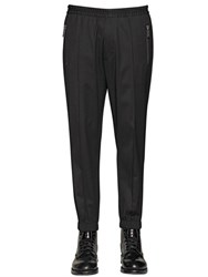 Dsquared Stretch Wool Gabardine Jogging Pants