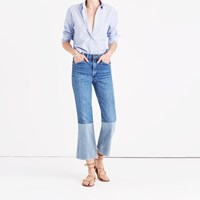 Madewell B Sidestm Reworked Vintage Jeans Two Tone Edition