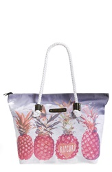 Rip Curl 'Pineapple Paradise' Tote Hot Pink