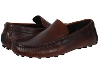 Frye Russel Venetian Cognac Vintage Pull Up Men's Slip On Shoes Brown