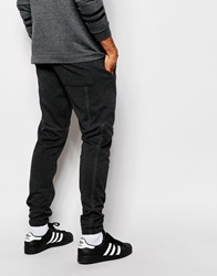 Asos Skinny Joggers With Print Co Ord Charcoal