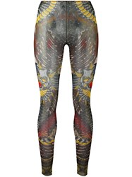 Dsquared2 Tattoo Leggings Black