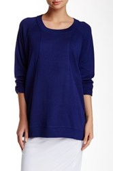 Planet The Baseball Sweater Blue