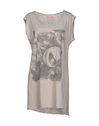 Madson Discount Topwear T Shirts Women Grey