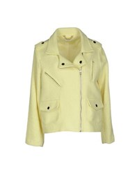 Beayukmui Coats And Jackets Jackets Women Yellow