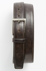 Men's Big And Tall Magnanni 'Catalux' Belt Grey