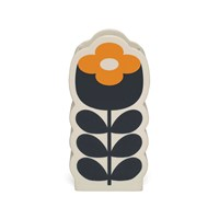 Orla Kiely Poppy Orange Lemon Yellow Vase