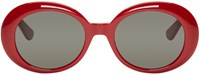 Saint Laurent Red Sl 98 California Sunglasses