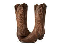 Ariat Heritage Western X Toe Distressed Brown Cowboy Boots