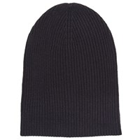 John Lewis Kin By Ribbed Beanie Hat Navy