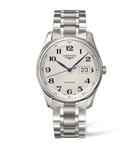 Longines Master Collection Watch Unisex Silver
