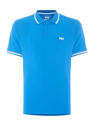 Helly Hansen Kos Short Sleeve Polo Energy Blue