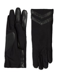 Isotoner Stretch Tech Gloves Black