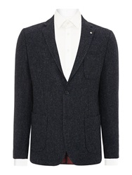 Peter Werth Carlo Two Button Blazer Navy