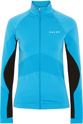 Falke Ergonomic Sport System Two Tone Stretch Jersey Jacket Light Blue