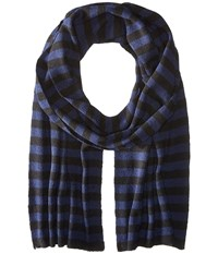 Original Penguin Bailey Black Navy Scarves