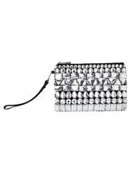 Phase Eight Erica Crystal Pouch Black