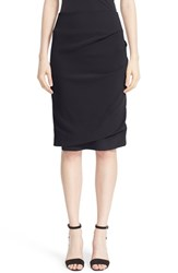 Eleventy Women's Ruched Cady Pencil Skirt